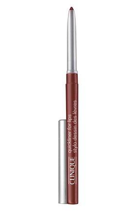 Автоматический карандаш для губ, оттенок bing cherry CLINIQUE бесцветного цвета, арт. 61EM-48 | Фото 1