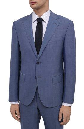 Мужской шерстяной костюм CORNELIANI голубого цвета, арт. 867268-0818414/92 Q1 | Фото 2