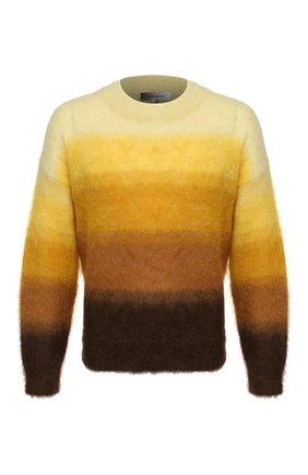 Мужской свитер ISABEL MARANT желтого цвета, арт. PU1275-20A055H/DRUSSELLH   Фото 1