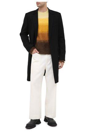 Мужской свитер ISABEL MARANT желтого цвета, арт. PU1275-20A055H/DRUSSELLH   Фото 2