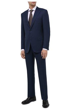 Мужские кожаные оксфорды TOD'S черного цвета, арт. XXM62C00N500LW | Фото 2