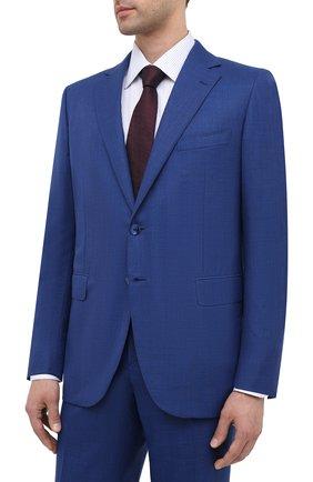 Мужской шерстяной костюм ZILLI синего цвета, арт. MMU-P222Z-64005/0001 | Фото 2