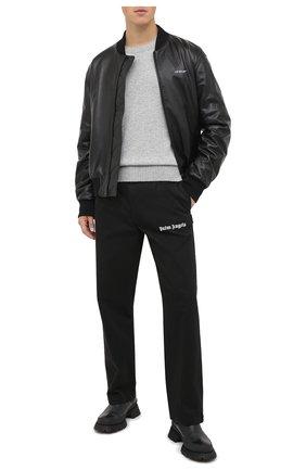 Мужской кашемировый свитер OFF-WHITE серого цвета, арт. 0MHE061F20KNI0010900 | Фото 2