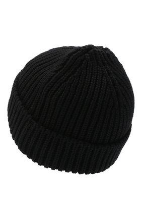 Мужская шерстяная шапка OFF-WHITE черного цвета, арт. 0MLC001F20KNI0011000 | Фото 2