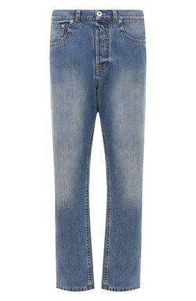 Мужские джинсы LANVIN синего цвета, арт. RM-TR0053-DZ06-A20 | Фото 1