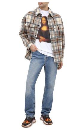 Мужские джинсы LANVIN синего цвета, арт. RM-TR0053-DZ06-A20 | Фото 2