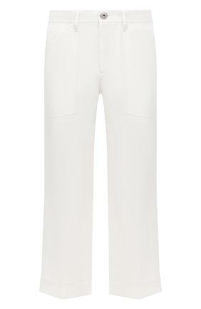 Мужские шерстяные брюки LANVIN белого цвета, арт. RM-TR0068-4687-H20 | Фото 1