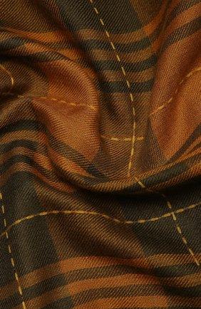 Мужской шарф из кашемира и шелка LORO PIANA коричневого цвета, арт. FAL2547 | Фото 2