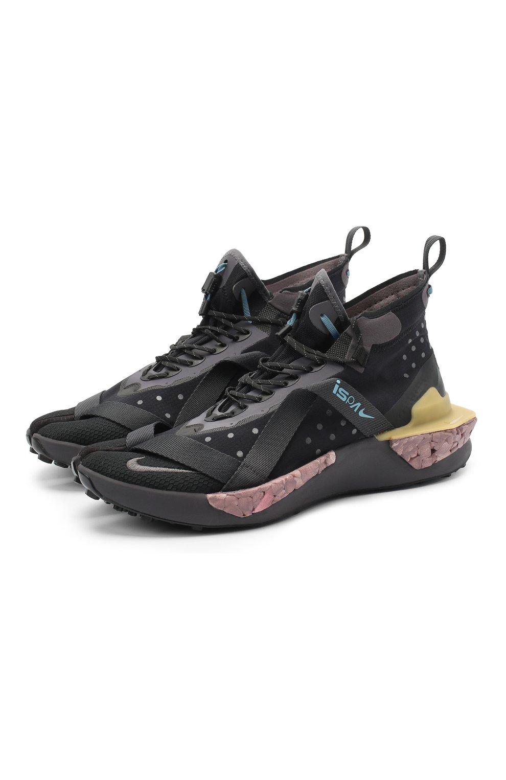 Мужские черные кроссовки ispa drifter split NIKELAB — купить за 15999 руб. в интернет-магазине ЦУМ, арт. AV0733-002