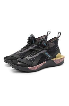 Мужские кроссовки ispa drifter split NIKELAB черного цвета, арт. AV0733-002 | Фото 1