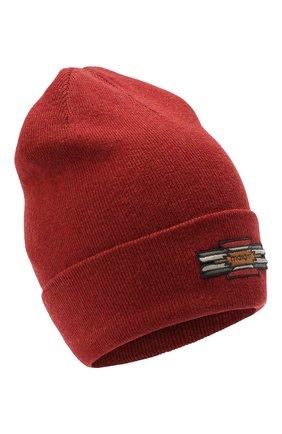 Женский шапка из хлопка и шерсти ISABEL MARANT красного цвета, арт. BE0009-20A032A/HART | Фото 1