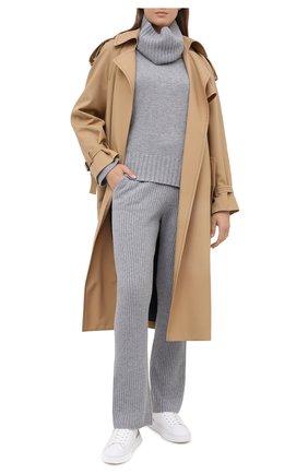 Женские кожаные кеды h365 HOGAN белого цвета, арт. HXW3650J9710XB   Фото 2