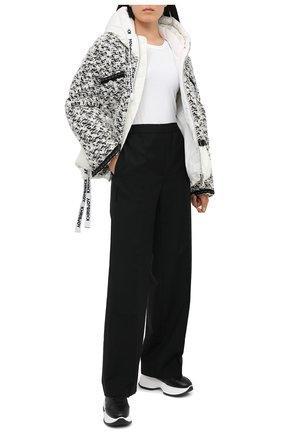 Женские кожаные кроссовки maxi i active HOGAN черного цвета, арт. HXW4350BN51035   Фото 2