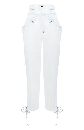 Женские джинсы ISABEL MARANT голубого цвета, арт. PA1758-20A022I/NUBAIA | Фото 1