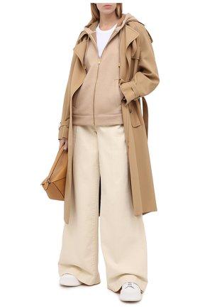 Женский шерстяной кардиган BALLY бежевого цвета, арт. L5BA484F-9S193/130 | Фото 2