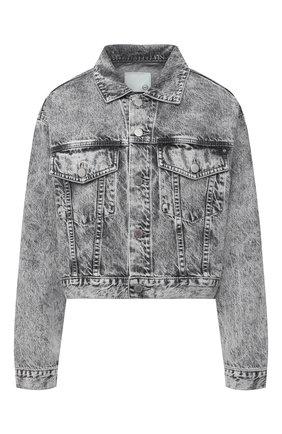 Женская джинсовая куртка AG серого цвета, арт. BKS4471/DIVN | Фото 1