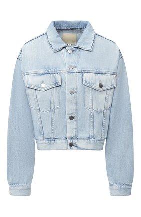 Женская джинсовая куртка AG голубого цвета, арт. HRD4471/96ERA | Фото 1
