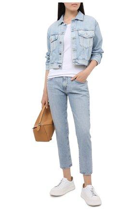 Женская джинсовая куртка AG голубого цвета, арт. HRD4471/96ERA | Фото 2