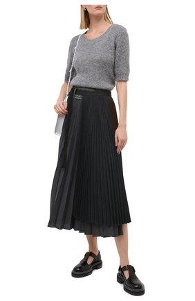 Женский шерстяной пуловер DOROTHEE SCHUMACHER серого цвета, арт. 914204/S0FT FLASH | Фото 2