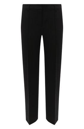Женские брюки из вискозы DOROTHEE SCHUMACHER черного цвета, арт. 948003/EM0TI0NAL ESSENCE | Фото 1