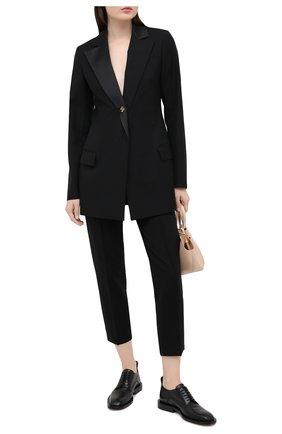 Женские брюки из вискозы DOROTHEE SCHUMACHER черного цвета, арт. 948003/EM0TI0NAL ESSENCE | Фото 2