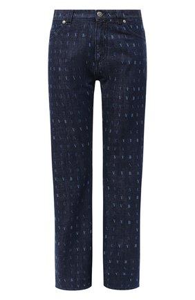 Женские джинсы VICTORIA, VICTORIA BECKHAM синего цвета, арт. 2320DJE001377A | Фото 1