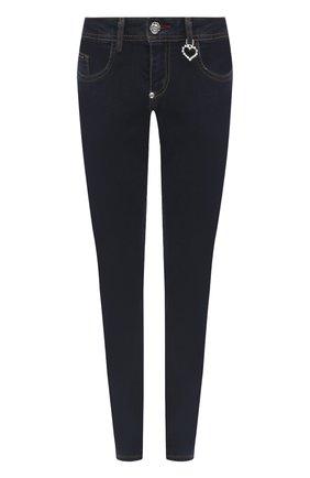 Женские джинсы PHILIPP PLEIN темно-синего цвета, арт. F20C WDT1420 PDE004N | Фото 1