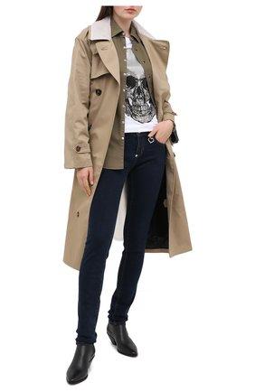 Женские джинсы PHILIPP PLEIN темно-синего цвета, арт. F20C WDT1420 PDE004N | Фото 2