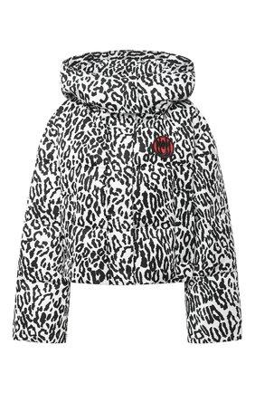 Женская куртка MIU MIU черно-белого цвета, арт. ML610-1VZZ-F0009   Фото 1
