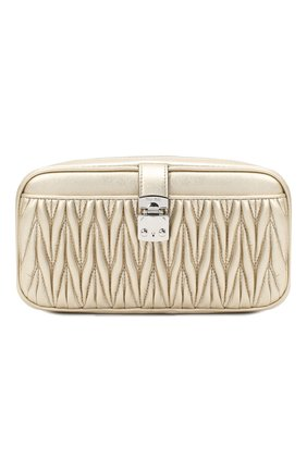Женская сумка MIU MIU золотого цвета, арт. 5DH059-N88-F0PLI   Фото 1