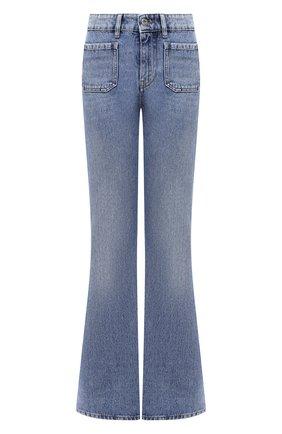 Женские джинсы MIU MIU синего цвета, арт. GWP303-1VJ0-F0013   Фото 1