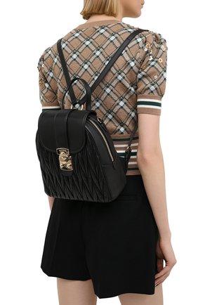 Женский рюкзак MIU MIU черного цвета, арт. 5BZ026-N88-F0002-OOO | Фото 2