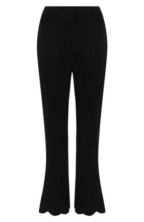 Женские брюки MIU MIU черного цвета, арт. MP1401-4KT-F0002   Фото 1