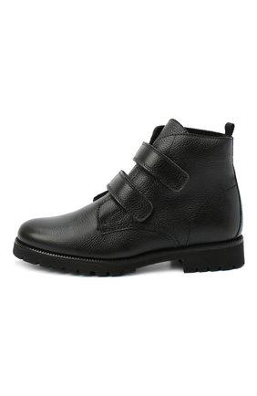 Детские замшевые ботинки BEBERLIS черного цвета, арт. 21550/35-38   Фото 2