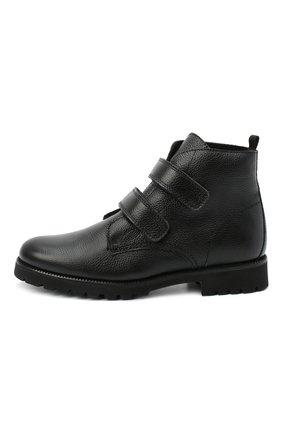 Детские замшевые ботинки BEBERLIS черного цвета, арт. 21550/39-40   Фото 2