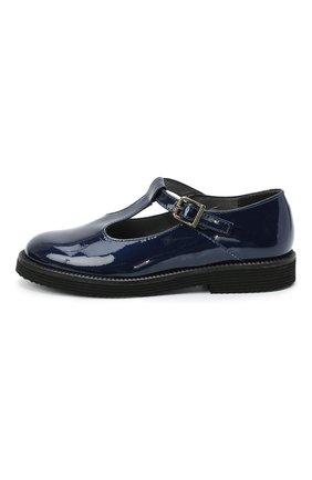 Детские кожаные туфли BEBERLIS синего цвета, арт. 21707/35-38 | Фото 2