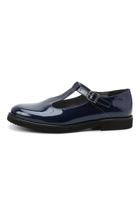 Детские кожаные туфли BEBERLIS синего цвета, арт. 21707/39-40 | Фото 2