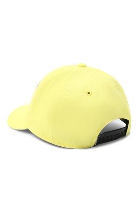 Детская хлопковая бейсболка DIESEL желтого цвета, арт. 00J52F-KXA77 | Фото 2