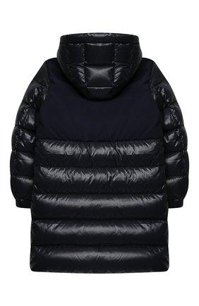 Детское пуховое пальто MONCLER темно-синего цвета, арт. F2-954-1C514-20-68950/12-14A | Фото 2