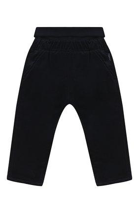 Детские хлопковые брюки SANETTA FIFTYSEVEN темно-синего цвета, арт. 902081 | Фото 1