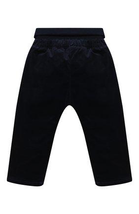 Детские хлопковые брюки SANETTA FIFTYSEVEN темно-синего цвета, арт. 902081 | Фото 2