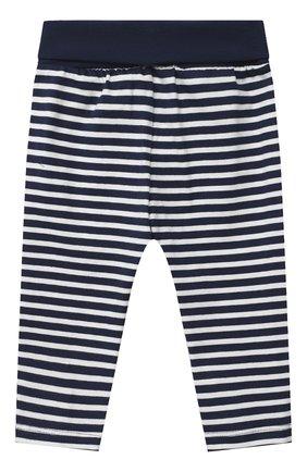 Детские хлопковые брюки SANETTA FIFTYSEVEN темно-синего цвета, арт. 901882 | Фото 2