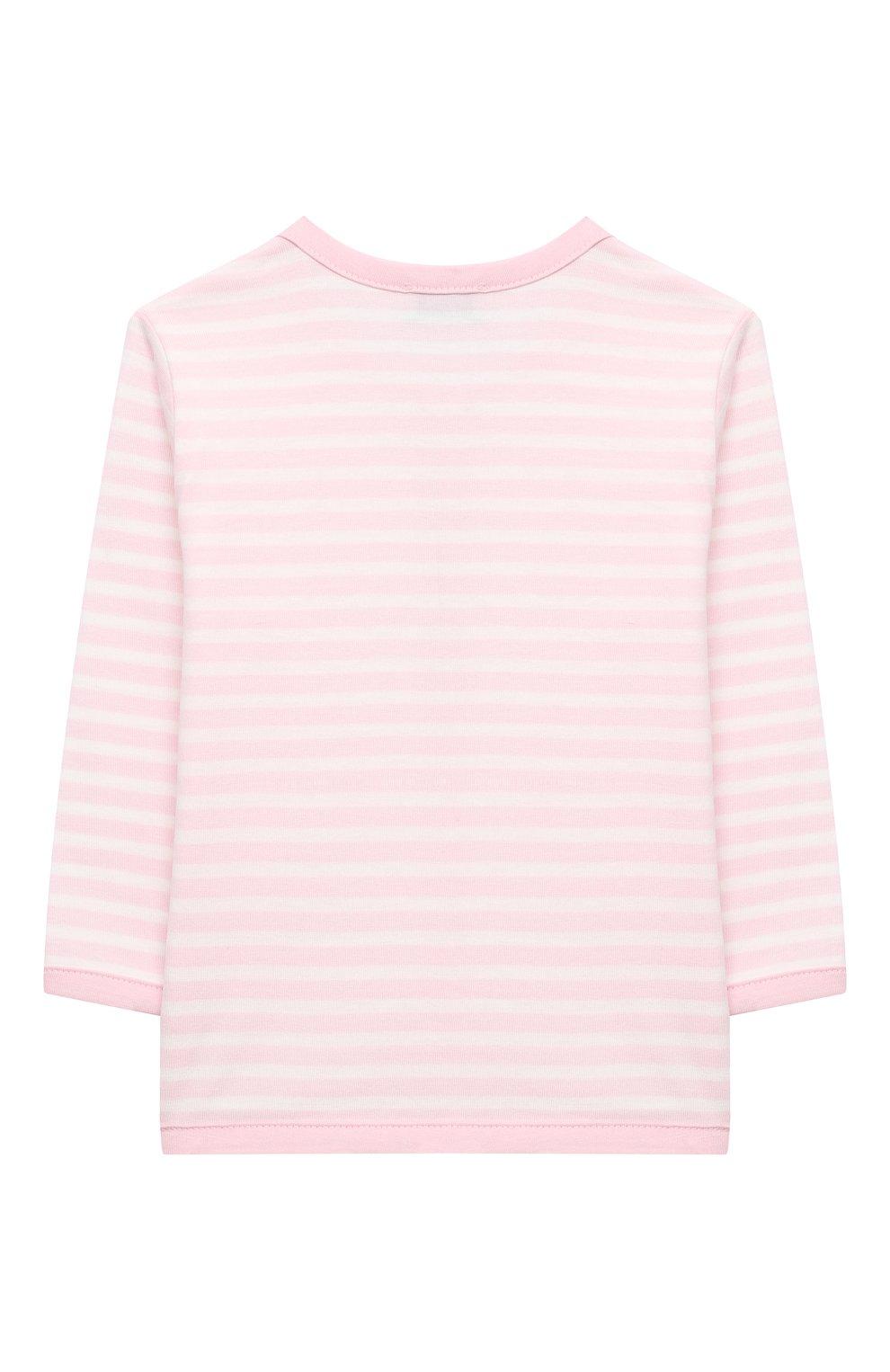 Детский хлопковый жакет SANETTA FIFTYSEVEN светло-розового цвета, арт. 901881 | Фото 2