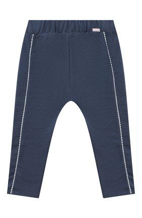 Детские хлопковые брюки SANETTA FIFTYSEVEN синего цвета, арт. 906872 | Фото 1