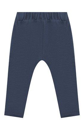 Детские хлопковые брюки SANETTA FIFTYSEVEN синего цвета, арт. 906872 | Фото 2