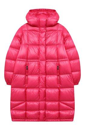 Детское пуховое пальто MONCLER фуксия цвета, арт. F2-954-1C506-10-539ST/12-14A | Фото 1