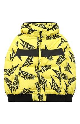 Детский куртка GIVENCHY желтого цвета, арт. H26062 | Фото 1