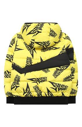 Детский куртка GIVENCHY желтого цвета, арт. H26062 | Фото 2