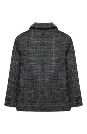 Детский пиджак EMPORIO ARMANI темно-серого цвета, арт. 6H4GJA/4N4PZ | Фото 2