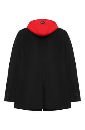 Детское пальто PHILIPP PLEIN черного цвета, арт. F20C BRA0028 PTE003N | Фото 2